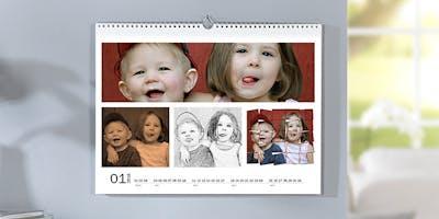 Fotokalender mit Kinderfotos