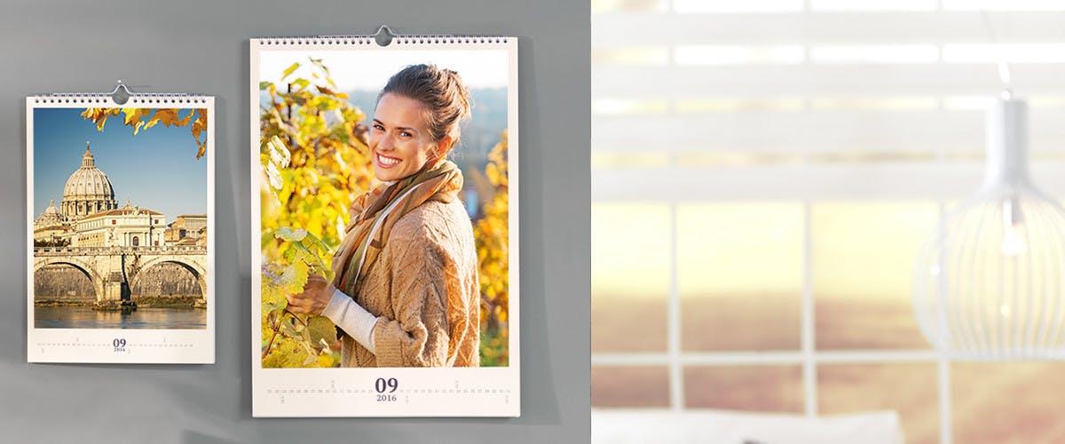 Fotoauswahl für großformatige Kalender