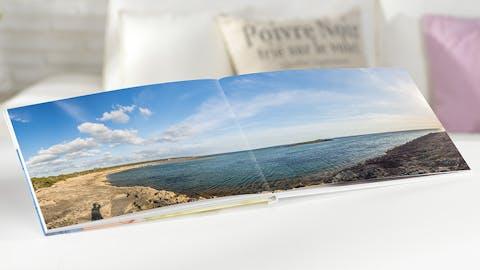 Pixum Fotobok stor panorama