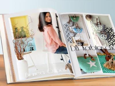 Fotobuch mit DIY-Tipps.