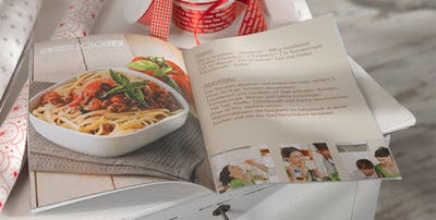 Voici comment cr�er un livre de cuisine personnalis�