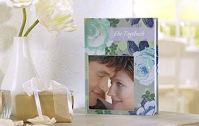Fotonotizbuch als Ehetagebuch gestalten - einfach bei Pixum