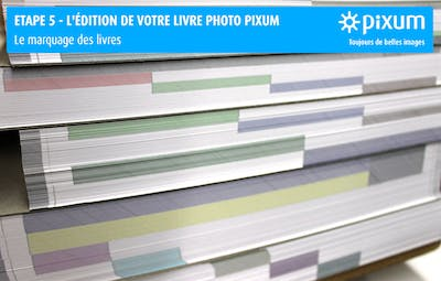 Production d'un Livre photo Pixum : Triage des pages