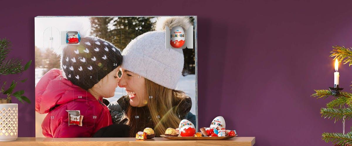 Foto-Adventskalender mit kinder� �berraschung