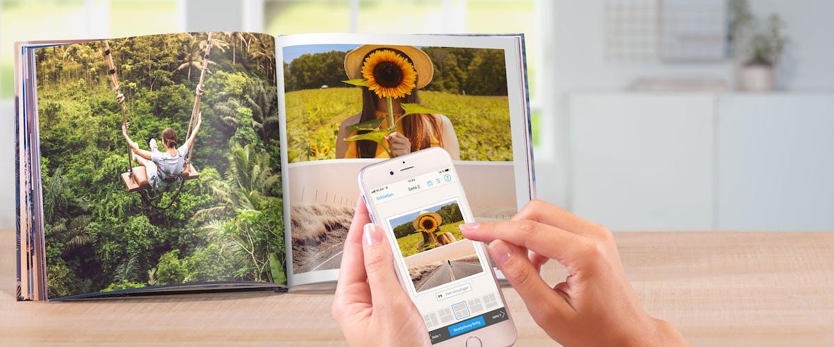 Pixum Fotobuch entdecken