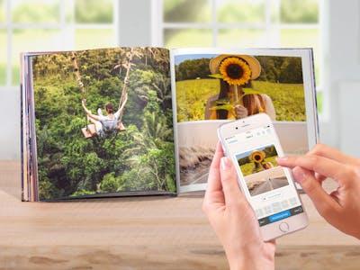Pixum Fotobuch per App bestellen.
