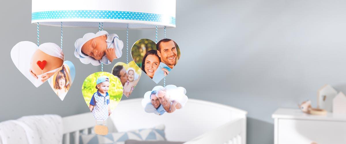 Persoonlijke mobiel voor je baby