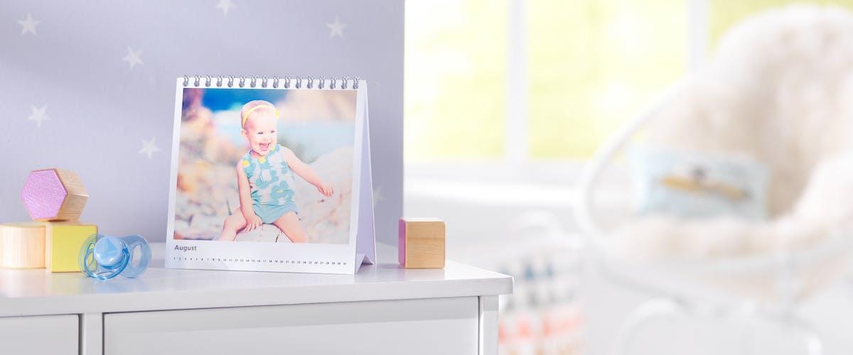 Foto-Tischkalender ohne Kalendarium