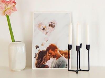 Vor allem als Gutscheine an Freunde oder Geschenke für die Familie sind Fotopuzzle in Collagenform eine tolle Idee.