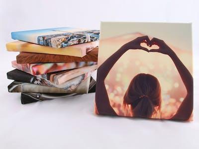 Heel belangrijk zijn de canvassen voor je creatieve creatie. Let er op dat ze thematisch of qua kleur bij elkaar passen.