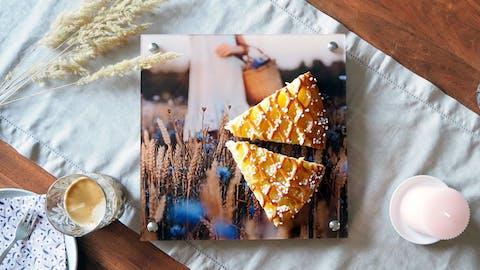 Kreativideen für dein Foto hinter Acrylglas