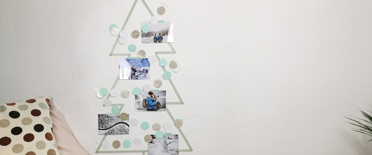 Idées DIY : alternative au sapin de Noël