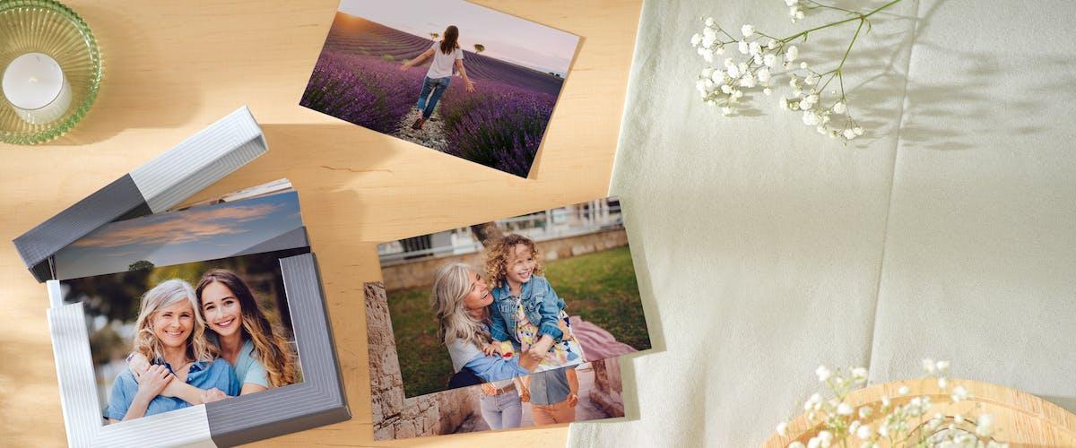 Framkallade bilder med Pixum Fotobox