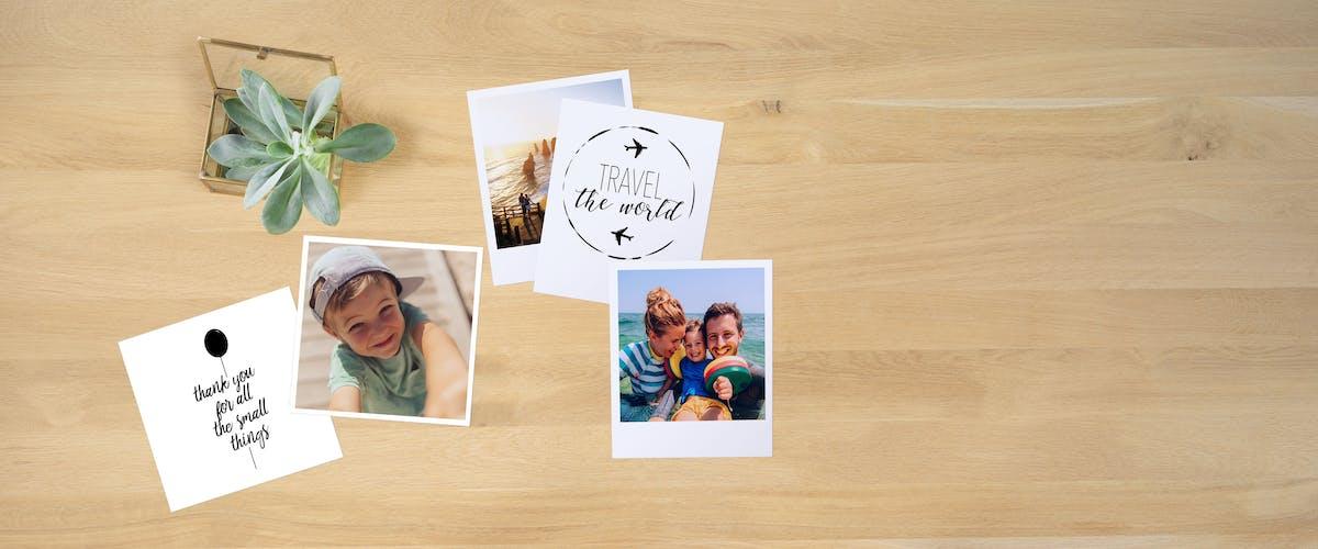 Retro-Fotos als Collage