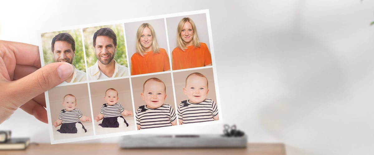 Passport Photos of Babies & Children