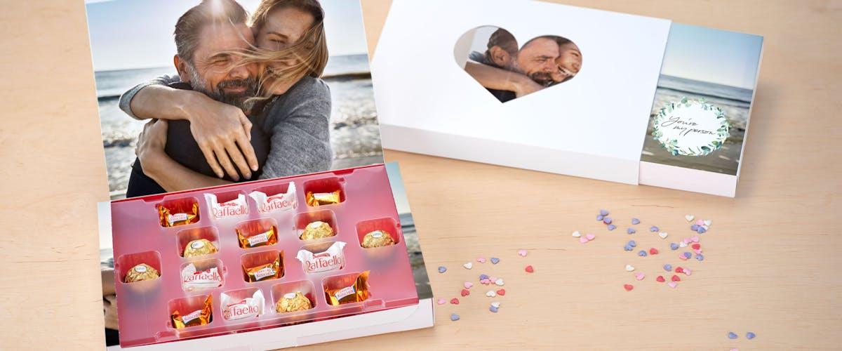 Foto-Geschenkboxen zum Valentinstag
