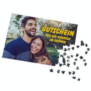 Gutschein-Puzzle