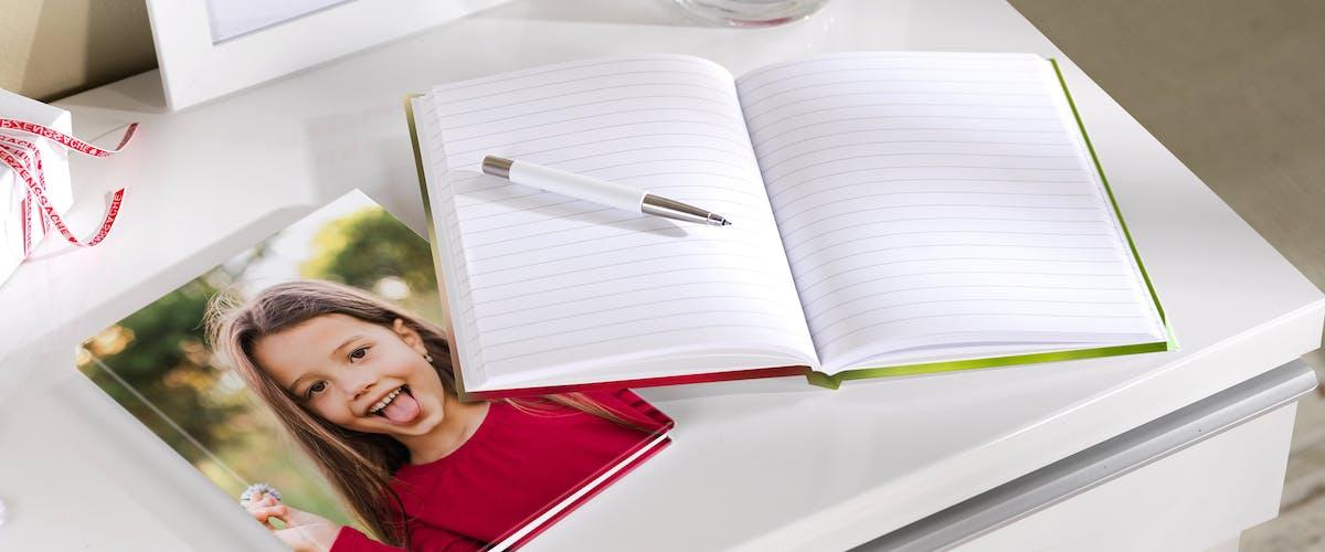 Cuaderno personalizado con fotos