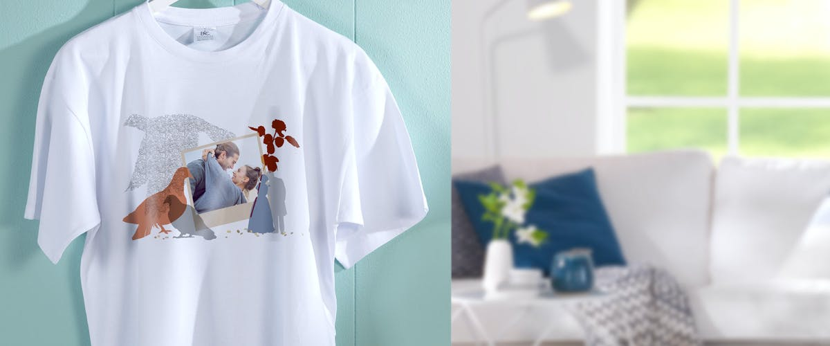 <h1>T-Shirt mit Foto</h1>