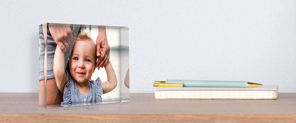 <h1>Glasfoto selbst gestalten</h1>