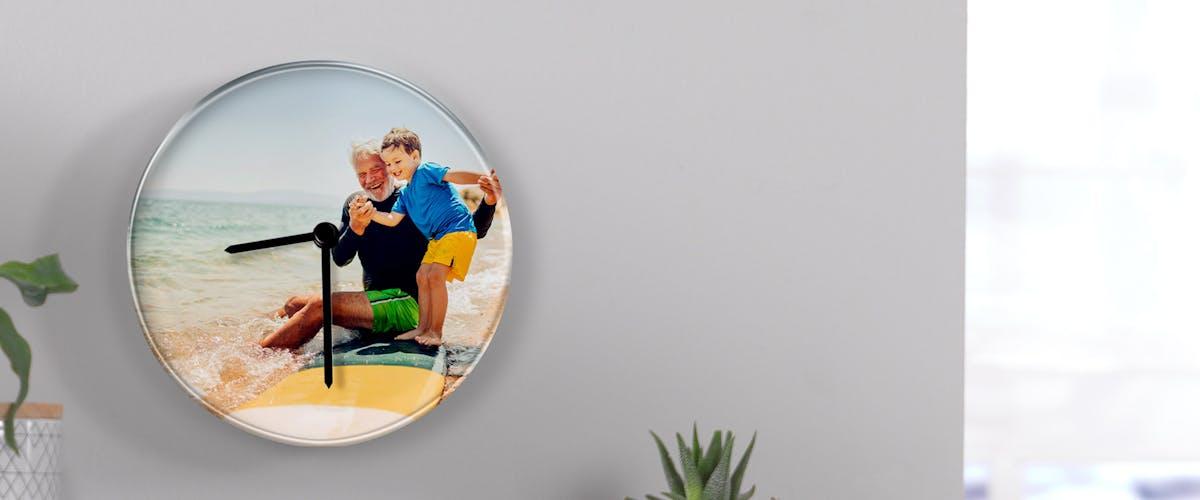 <h1>Orologio da parete personalizzato</h1>