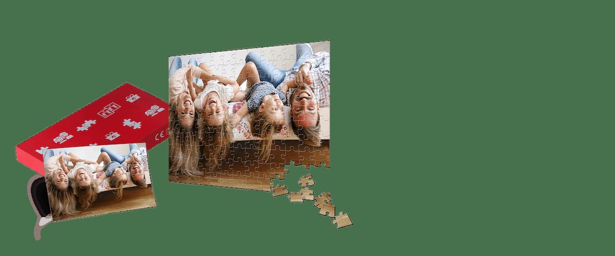 Fotopuzzle gestalten & verschenken