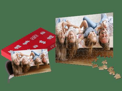 Mit einem liebevoll gestaltetem Fotopuzzle als Gutschein sorgst du für freudige Überraschungen!
