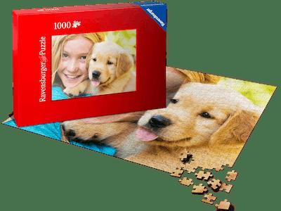 Pixum Fotopuzzle mit 1.000 Teilen im XL Format.