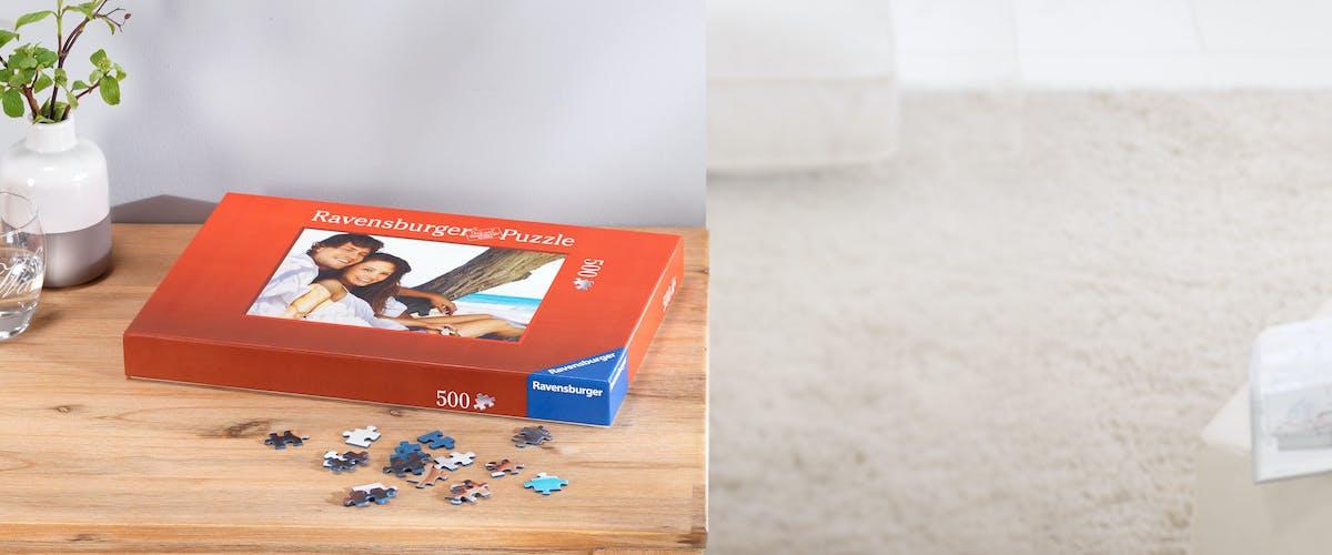 3 ¤ de ahorro en puzzles personalizados