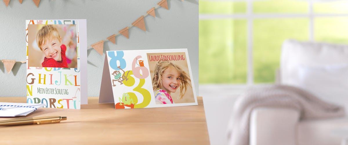 Grusskarten für Kinder