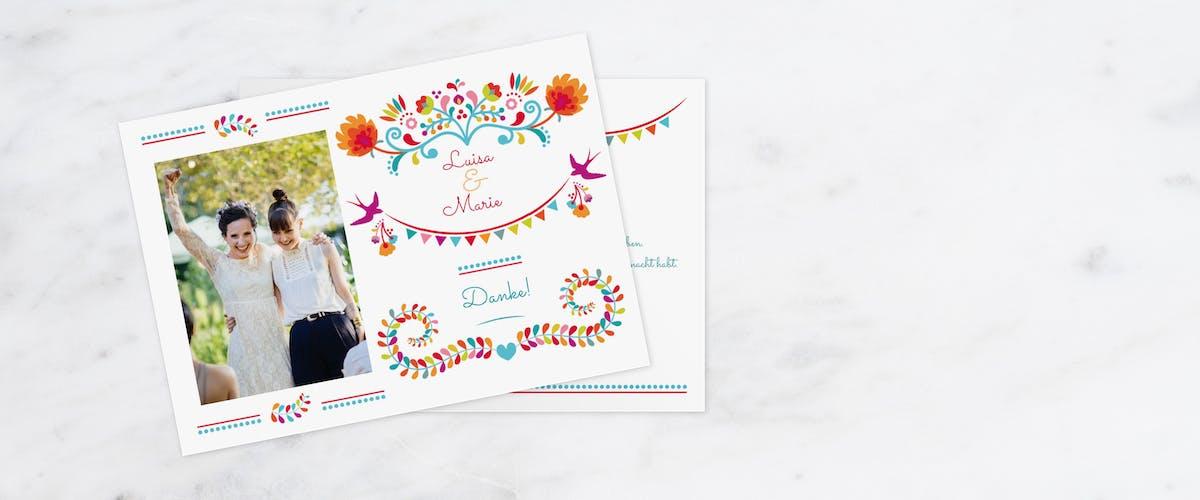 Hochzeitskarten - von Save-the-Date bis Dankeskarten