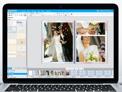 Fotobuchgestaltung online.