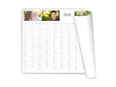 Gestalte einen persönlichen Jahresplaner für dich und deine Kollegen.