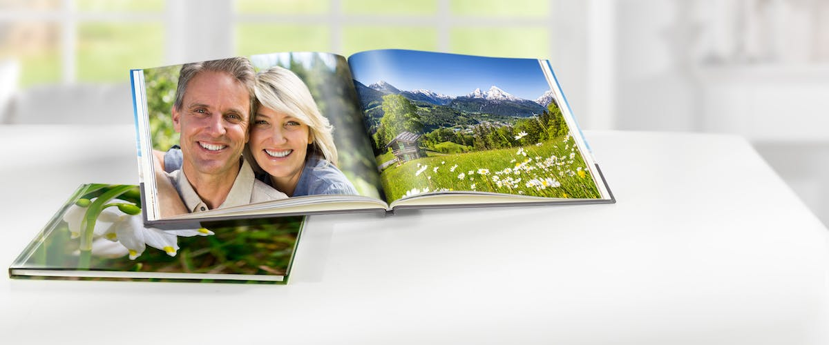 Edit photo book pages