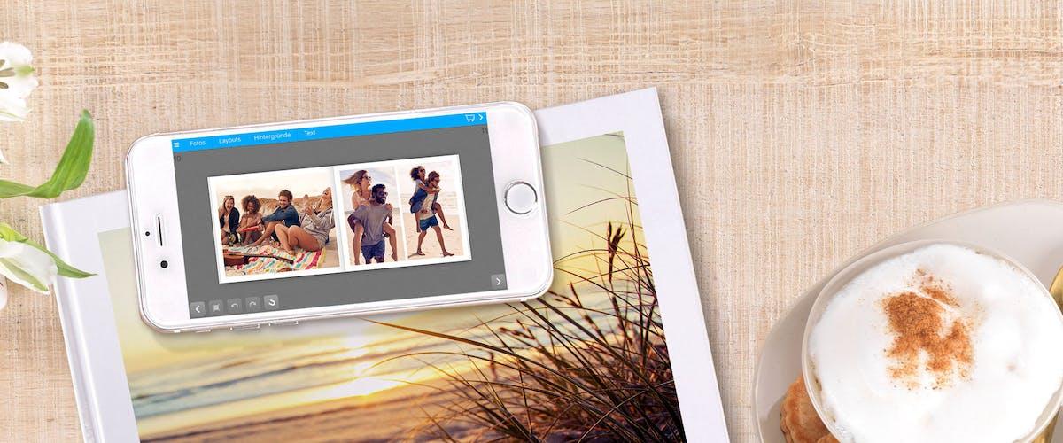 Fotoalbum per App gestalten