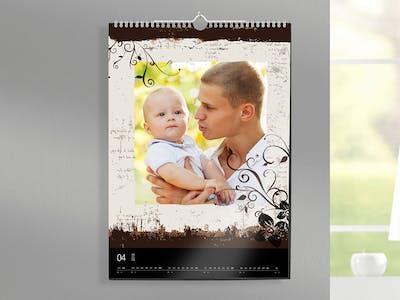 Verschiedenen Designs für den Fotokalender.