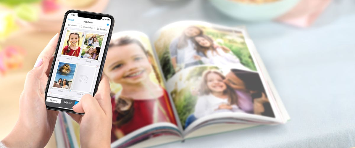 Fotobuch per App gestalten