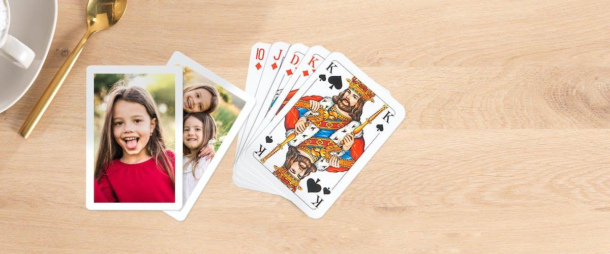 Foto-Spielkarten selbst gestalten