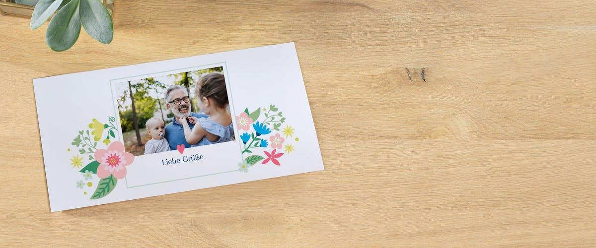 Persönliche Grusskarten an deine Lieben