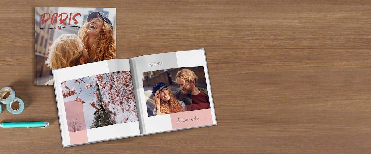 10 ¤ offerts sur votre livre photo Pixum