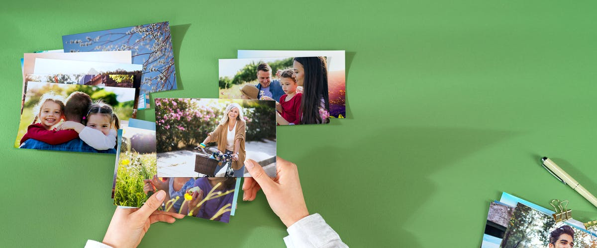 Photo prints on photo paper