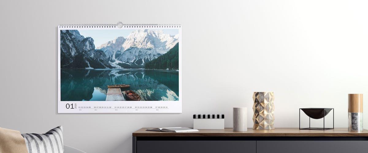 Fotokalender mit individuellem Startdatum erstellen