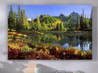 Mit dem richtigen Format kommst du Aufnahmen auf dem Wandbild noch besser zur Geltung.