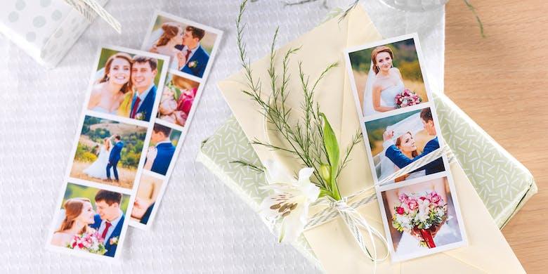 Zu den Hochzeitsgeschenken