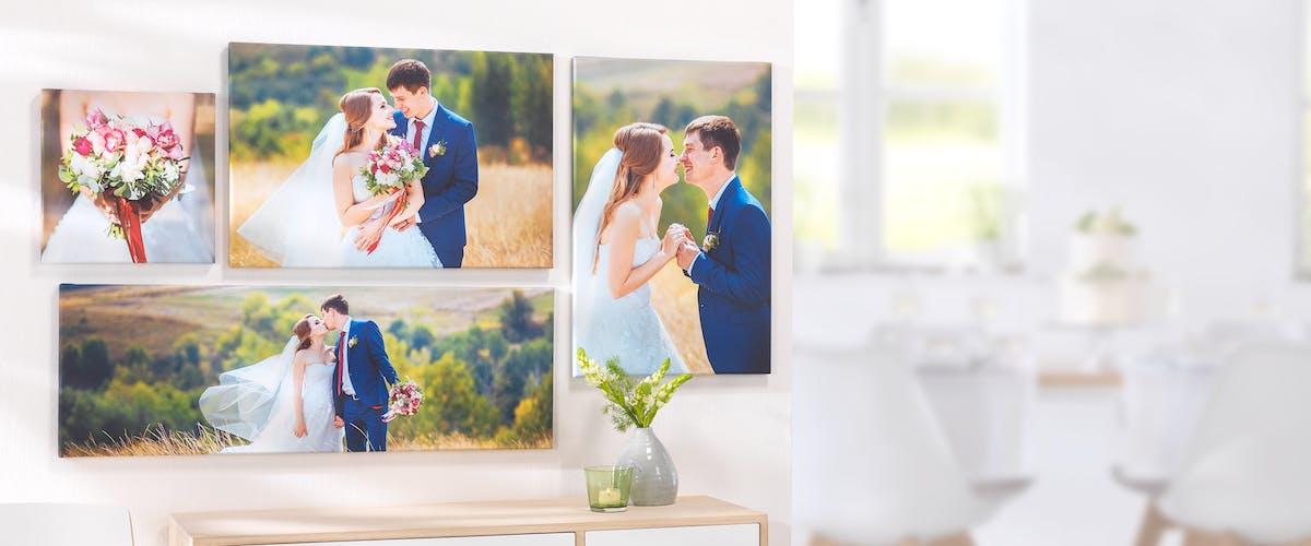 Wandbild zur Hochzeit