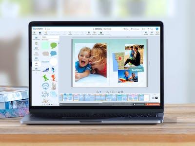 Fotobuch am Mac mit der Fotowelt Software erstellen