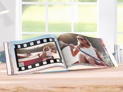 Fotobuch mit Sommermotiv.
