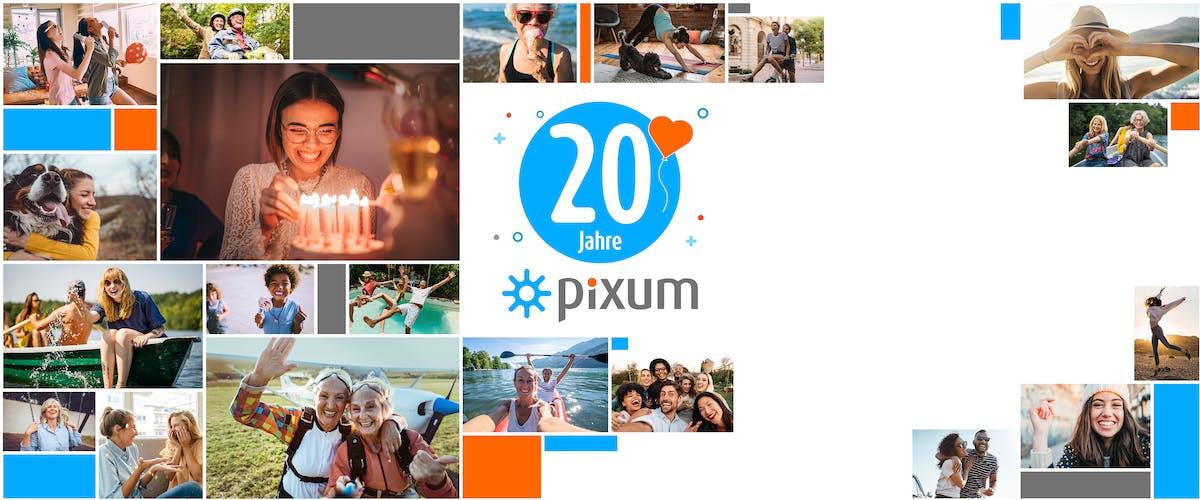 20 Jahre Pixum: Wir <br>feiern deine Fotos!