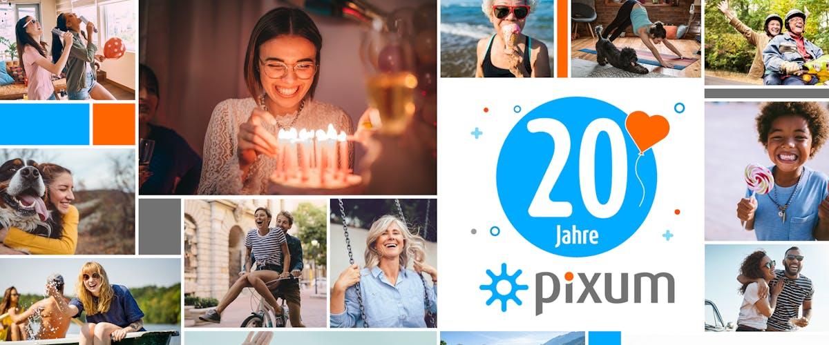20 Jahre Pixum - Gewinnspiel zum Jubiläum