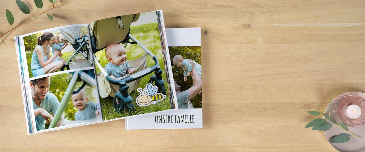Zuckersüße Familienfotobücher